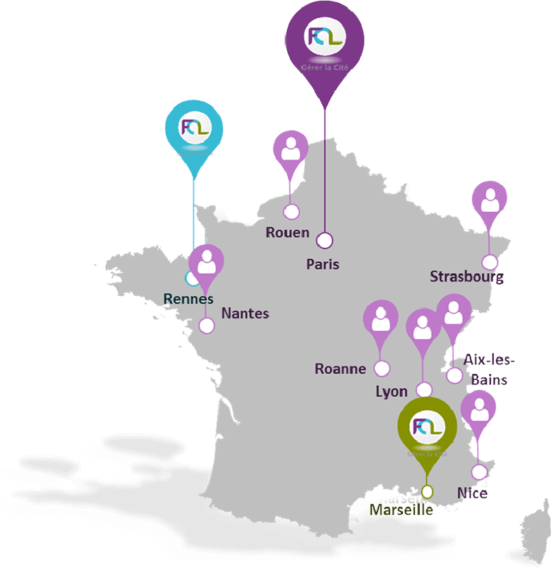 Carte de France FCL